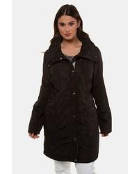 schwarzer Mantel von Ulla Popken