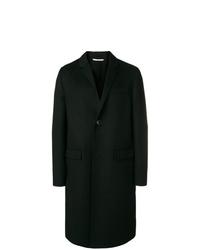schwarzer Mantel von Valentino