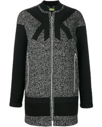 schwarzer Mantel von Versace