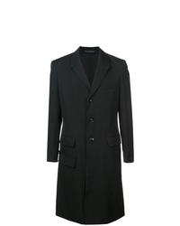 schwarzer Mantel von Yohji Yamamoto
