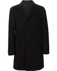 schwarzer Mantel von Z Zegna