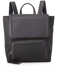 schwarzer Nylon Rucksack von DKNY