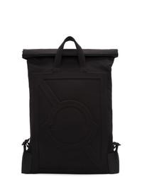 schwarzer Nylon Rucksack von Moncler Genius