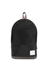 schwarzer Nylon Rucksack von Thom Browne