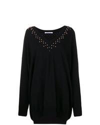 schwarzer Oversize Pullover von Givenchy