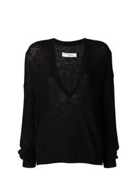 schwarzer Oversize Pullover von IRO