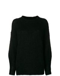 schwarzer Oversize Pullover von Isabel Marant
