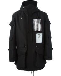 schwarzer Parka von Givenchy
