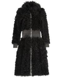 schwarzer Pelz von Alexander McQueen