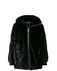 schwarzer Pelz von DSQUARED2