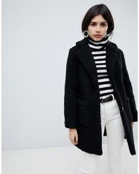 schwarzer Pelz von New Look
