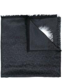 schwarzer Pelzschal von Fendi