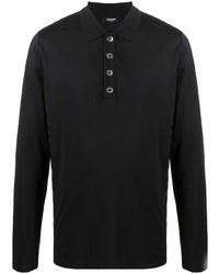 schwarzer Polo Pullover von Balmain