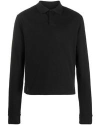 schwarzer Polo Pullover von Bottega Veneta