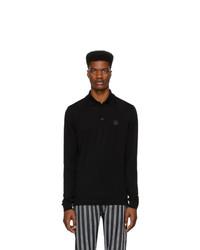 schwarzer Polo Pullover von Dolce and Gabbana