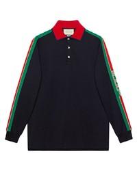 schwarzer Polo Pullover von Gucci