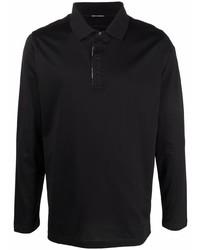schwarzer Polo Pullover von Karl Lagerfeld