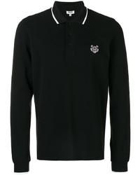 schwarzer Polo Pullover von Kenzo