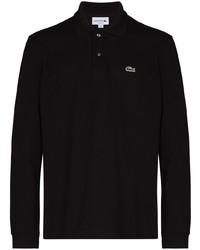 schwarzer Polo Pullover von Lacoste
