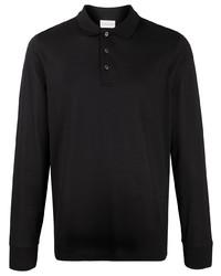 schwarzer Polo Pullover von Moncler