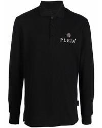 schwarzer Polo Pullover von Philipp Plein
