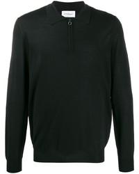 schwarzer Polo Pullover von Salvatore Ferragamo