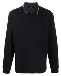 schwarzer Polo Pullover von Valentino