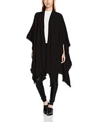 schwarzer Poncho von Vero Moda