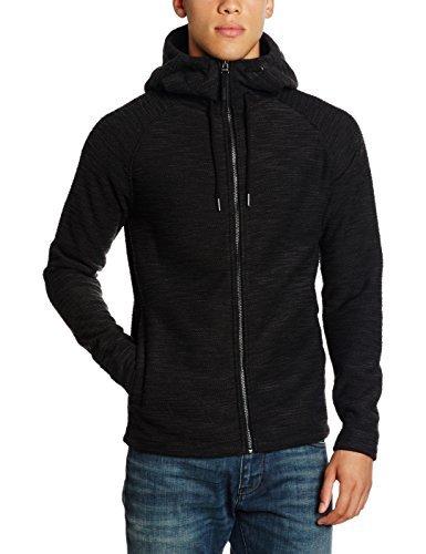 schwarzer Pullover mit einem Kapuze von Bench
