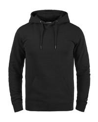 schwarzer Pullover mit einem Kapuze von BLEND