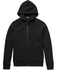 schwarzer Pullover mit einem Kapuze von Bottega Veneta