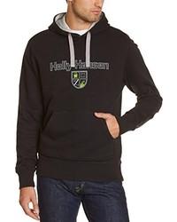 schwarzer Pullover mit einem Kapuze von Helly Hansen