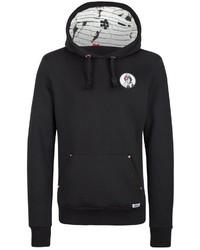 schwarzer Pullover mit einem Kapuze von Homebase