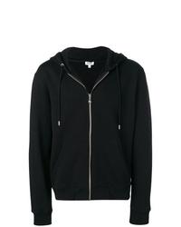schwarzer Pullover mit einem Kapuze von Kenzo