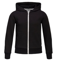 schwarzer Pullover mit einem Kapuze von Produkt