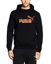 schwarzer Pullover mit einem Kapuze von Puma