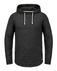 schwarzer Pullover mit einem Kapuze von Redefined Rebel