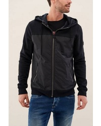 schwarzer Pullover mit einem Kapuze von SALSA