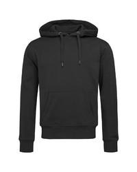 schwarzer Pullover mit einem Kapuze von Stedman