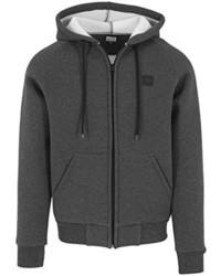 schwarzer Pullover mit einem Kapuze von Urban Classics