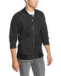 schwarzer Pullover mit einem Reißverschluß von Bench