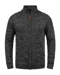 schwarzer Pullover mit einem Reißverschluß von BLEND