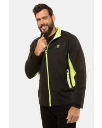 schwarzer Pullover mit einem Reißverschluß von JP1880
