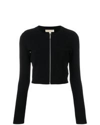 schwarzer Pullover mit einem Reißverschluß von MICHAEL Michael Kors