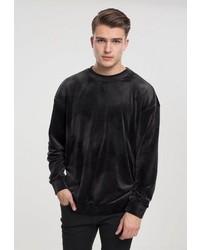 schwarzer Pullover mit einem Rundhalsausschnitt von Urban Classics