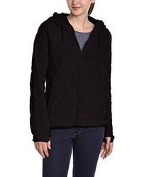 schwarzer Pullover mit einer Kapuze von Billabong
