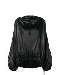 schwarzer Pullover mit einer Kapuze von Givenchy