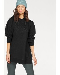 schwarzer Pullover mit einer Kapuze von NAVIGAZIONE BLU