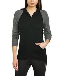 schwarzer Pullover mit einer Kapuze von Nike
