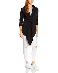 schwarzer Pullover mit einer Kapuze von Urban Classics